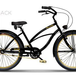 Plumbike LA DONNA GOLD BLACK